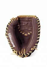 """barnett GL-202 Guantone da baseball, catcher, vera pelle, per adulto, 34"""", Marrone"""