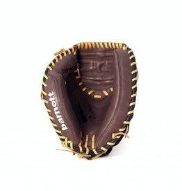 """GL-202 Guantone da baseball, catcher, vera pelle, per adulto, 34"""", Marrone"""