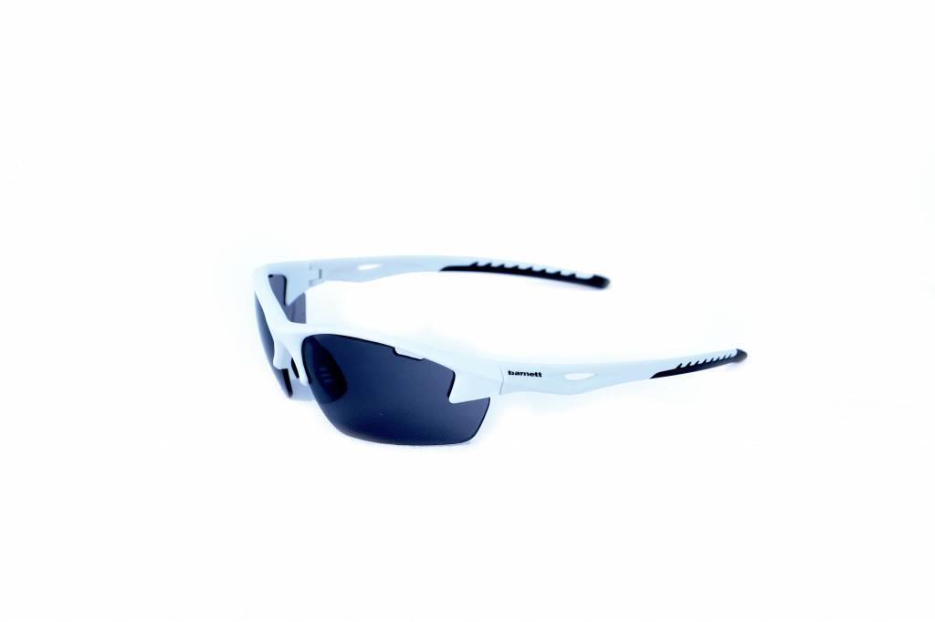 barnett GLASS-1, occhiali da sole sportivi bianchi