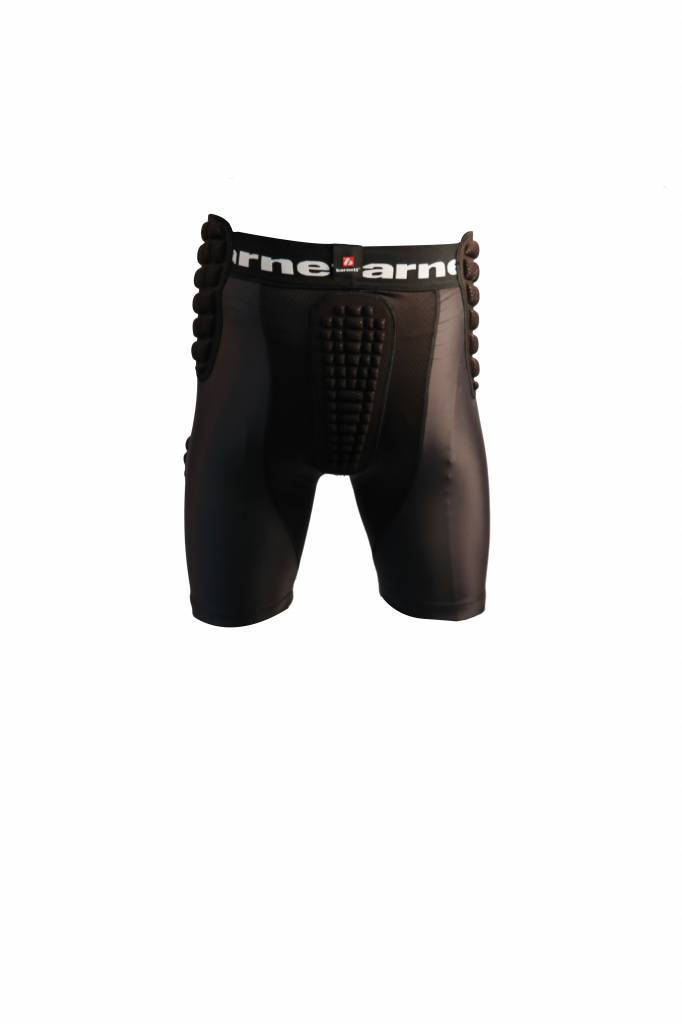 FS-10 Short da Compressione rinforzata, 5 pezzi integrati, football americano