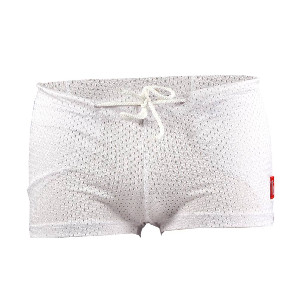 barnett FS-01 Pantalones cortos de compresión de fútbol, blanco