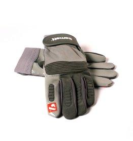 barnett FKG-01 Guantes de fútbol americano para linebacker, gris