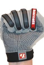 barnett FLG-02 Nueva generacion de guantes de fútbol americano para lineman, OL,DL gris