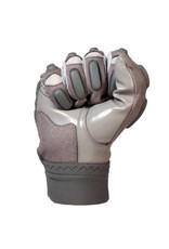 barnett FLG-03 Guantes excepcionales de fútbol americano, linemen, pro , OL,DL, gris