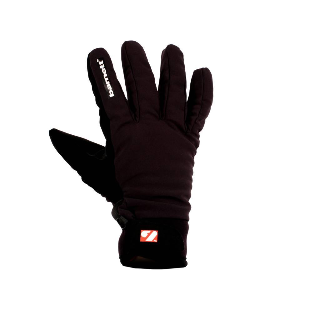 barnett NBG-07 Guantes de esquí de invierno, softshell, blancos