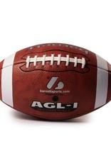 barnett AGL-1 Balón de fútbol americano, poliuretano, marrón