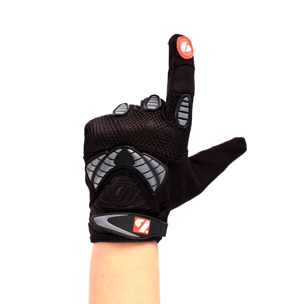 barnett FRG-02 Nueva generacion de guantes de fútbol americano para receptor, negro