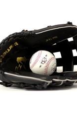 barnett JL-125 Guante de béisbol para la iniciación PU outfield 12,5', negro