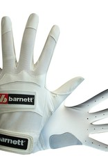 barnett BBG-01 Guantes de bateo, blanco