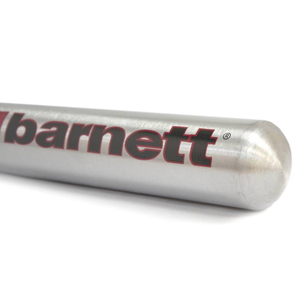barnett BB-1 Bate de béisbol de aluminio, gris metal
