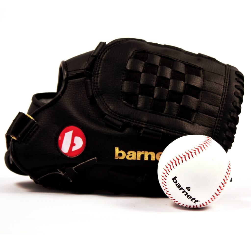 "barnett GBJL-2 Kit de béisbol guante, pelota senior PU (JL-120 12"", TS-1 9"")"
