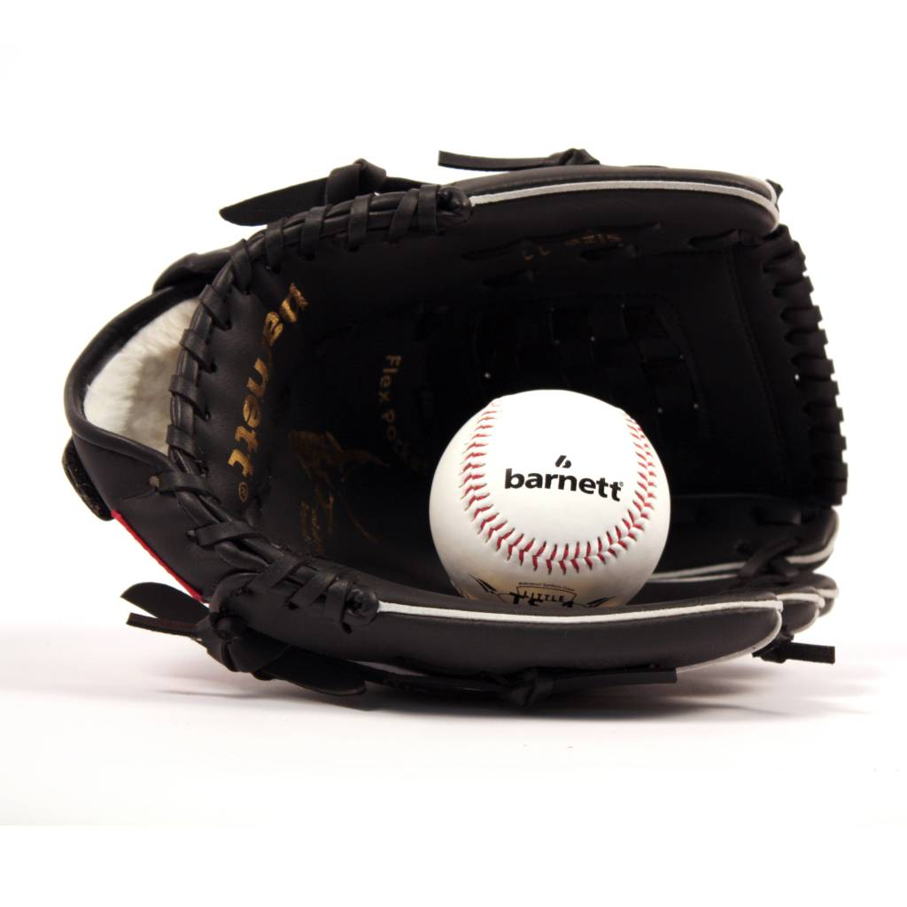 "barnett GBJL-3 Kit de béisbol guante, pelota youth (JL-110 11"", TS-1 9"")"