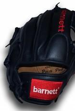 """barnett GL-110 Guante de béisbol de competición, cuero, infield 11"""", negro"""