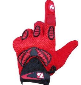 FRG-02 Nueva generación de guantes de fútbol americano receptor, RE,DB,RB, rojo