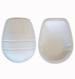 barnett FKP-03 Protección del muslo para fútbol americano, muy ligero, un tamaño, Blanco