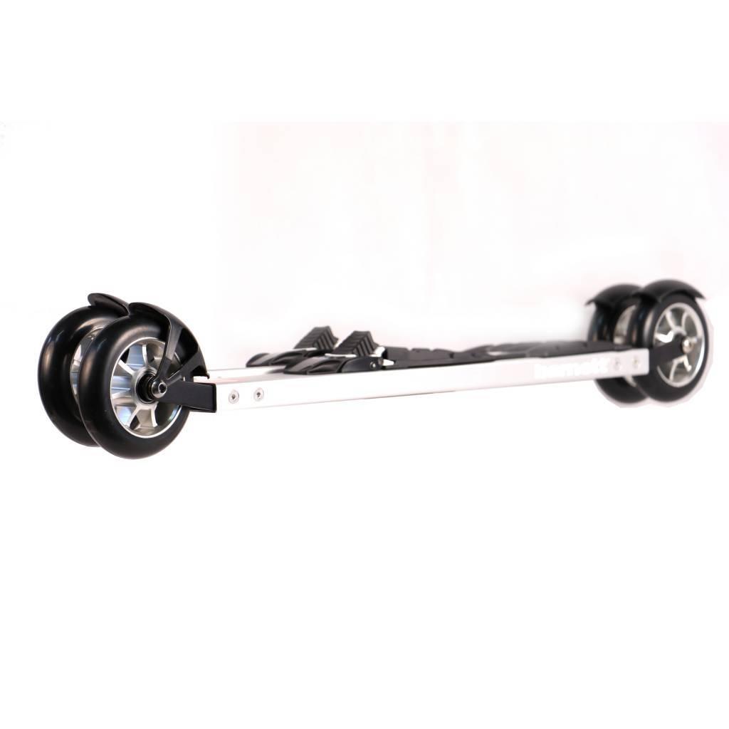 barnett roller ski RSE-ENTRY 610 para principiantes, gris, skiroll