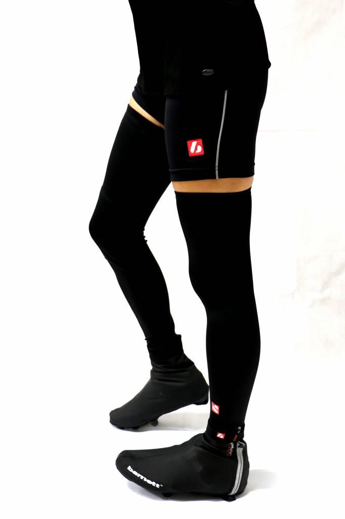 barnett BSP-05 Cubre zapatillas de abrigo, hidrófugos, negros