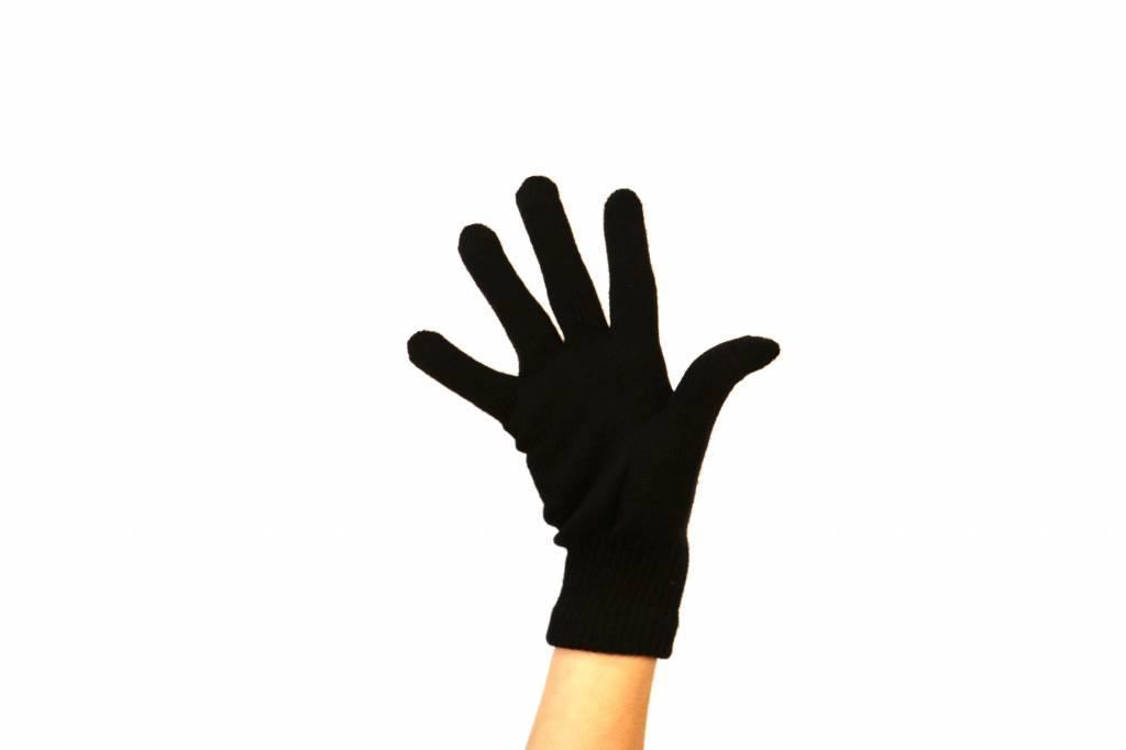 barnett NBG-15 Guantes de invierno en lana - esquí de fondo -5 ° / -10 °, negro o rosa