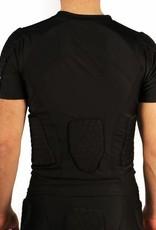 barnett  FS-09 Camiseta de manga corta, 4 piezas integradas, para fútbol americano