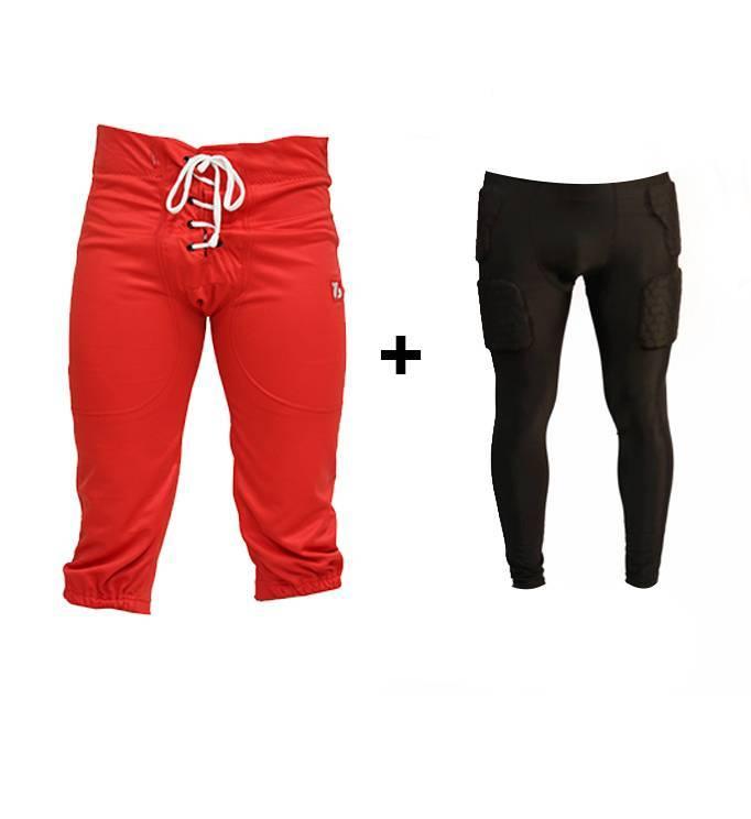 barnett barnett PACK PROTECTIVE PANTS Kit pantalones + polainas de compresión (largas)