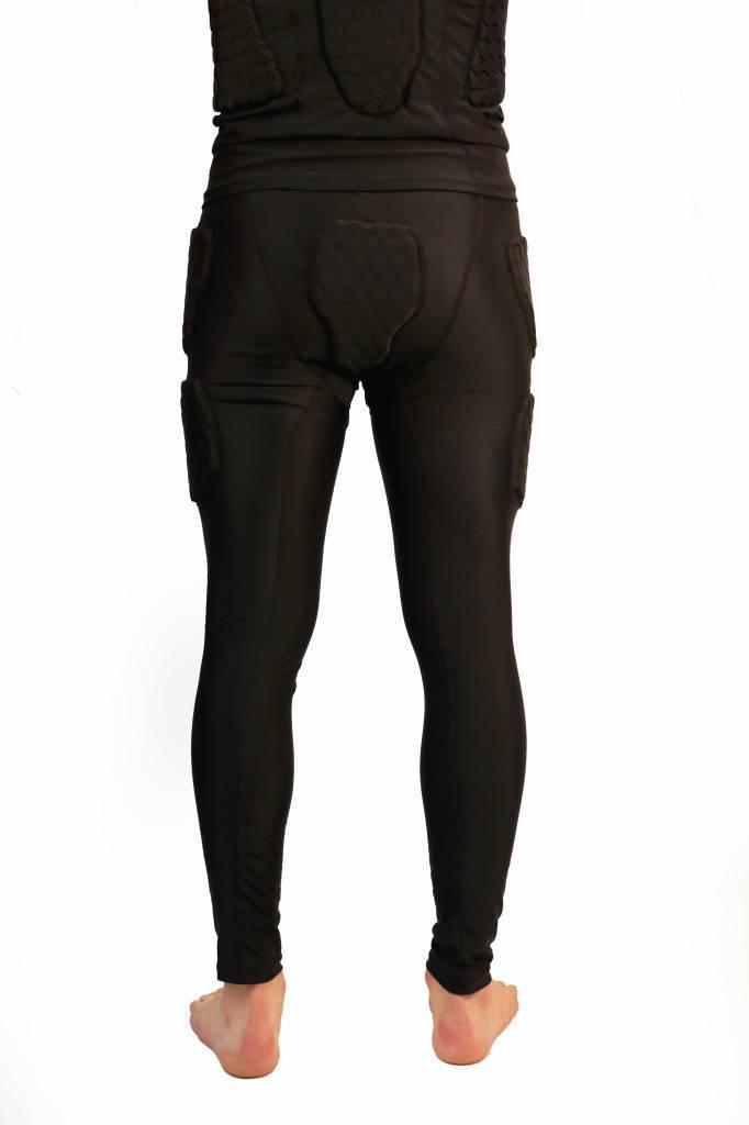 barnett barnett FKS-L Set, Camiseta de compresión con mangas largas + Pantalones de compresión, 5 piezas integradas, para el fútbol americano