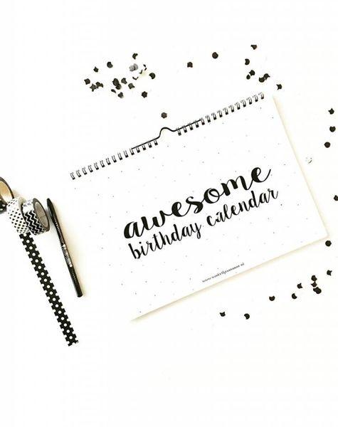 Verjaardagskalender Awesome