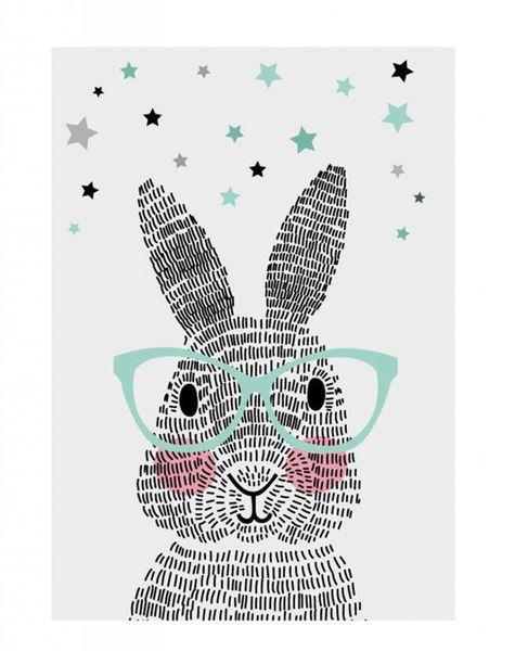 Poster A2 Mr. rabbit
