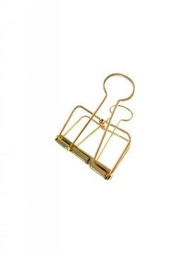 Binder Clips Gold XL