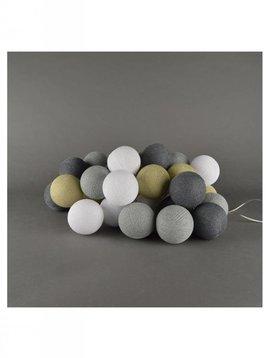 Cotton balls Sand Grey