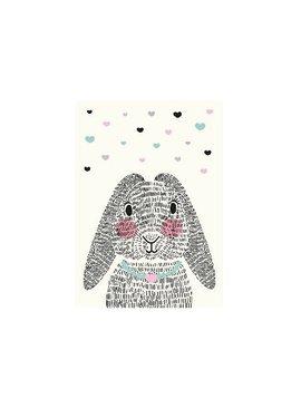 Kaart Mrs. Rabbit