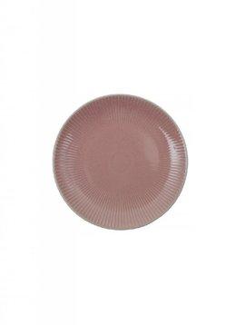 Bord 20cm roze