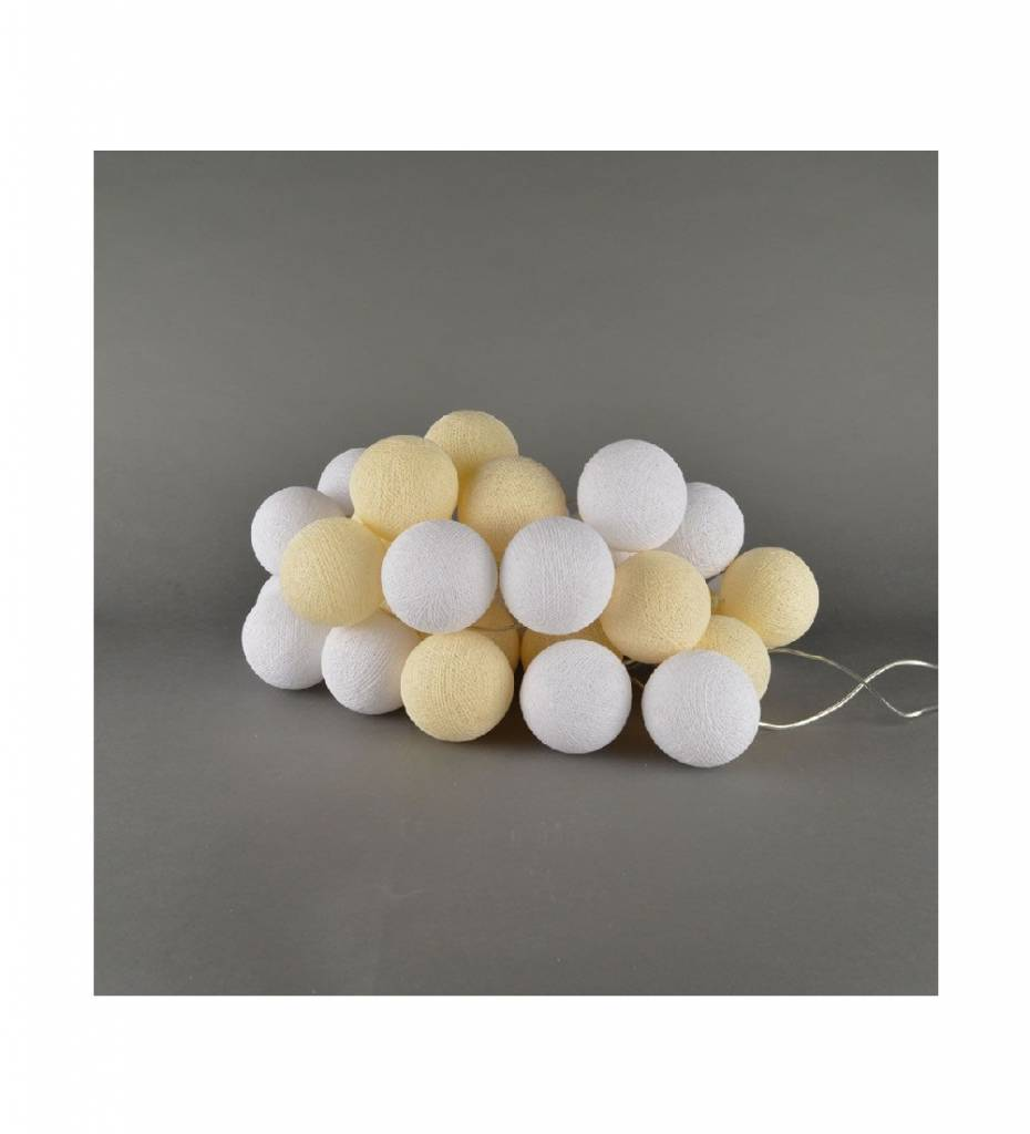 Cotton balls Shell & White