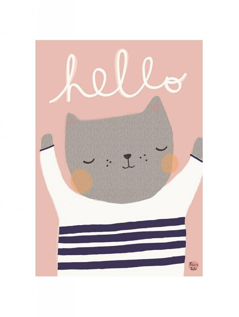 Poster A3 (29,7x42) Kat