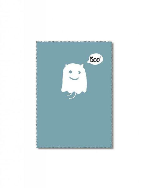 Kaart spook Boo