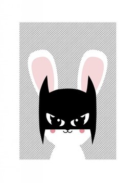 Poster A3 (29,7x42) Batbunny
