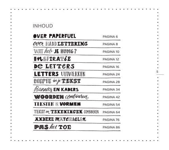 Boek Handlettering