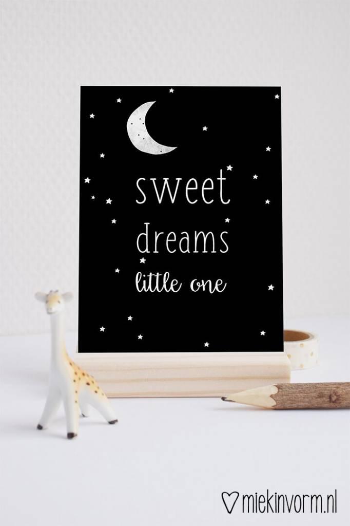 Kaart Sweet Dreams Black Vierjehuis