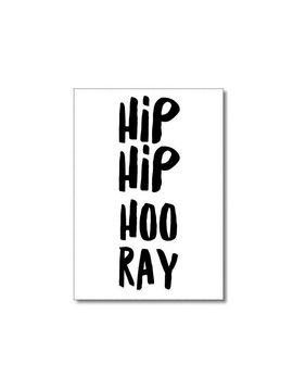 Kaart Hip Hip Hooray