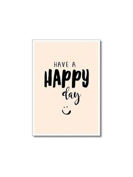 Kaart Happy day