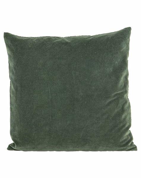 Kussensloop Velvet Groen