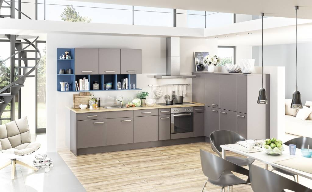 Keuken grijs en blauw bm2u - Keuken wit en blauw ...