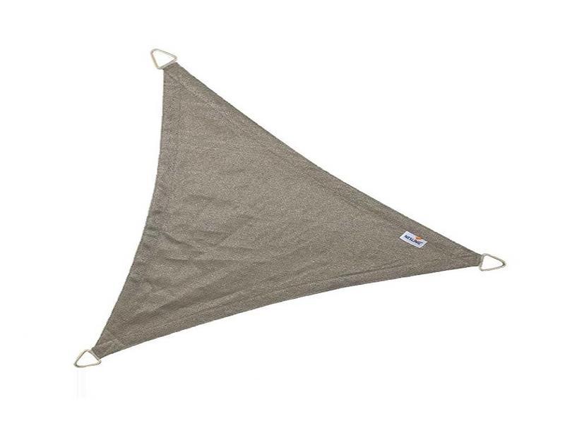 Nesling schaduwdoek driehoek antraciet - 4,0x4,0x5,7 m.