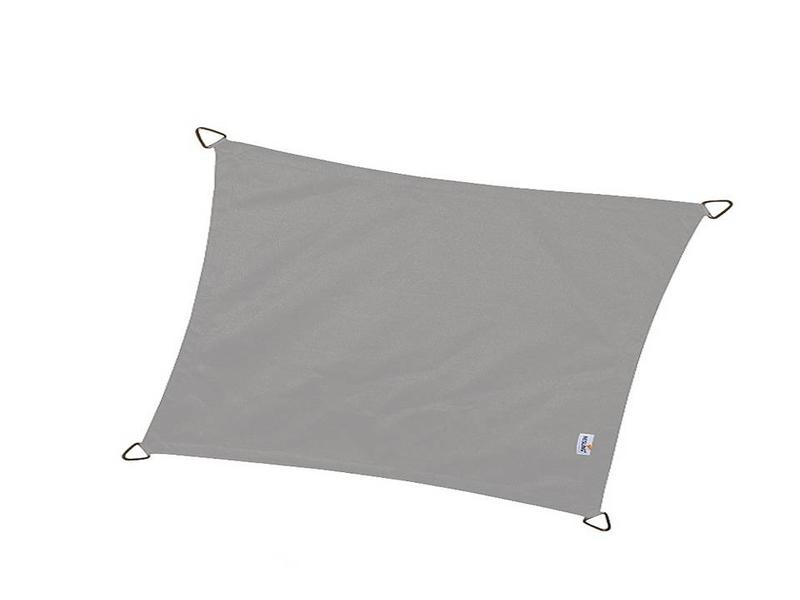 Nesling Schaduwdoek vierkant dreamsail grijs 4,0x4,0 m.
