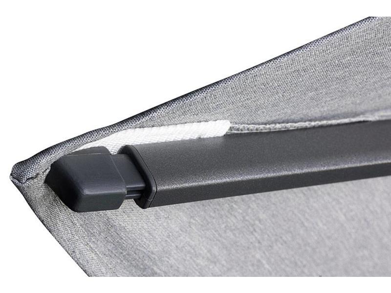 Platinum Challenger T2 premium - 3x3 m. - Faded Black