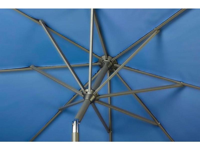 Platinum Riva parasol vierkant 2.5x2.5 m. - Wit