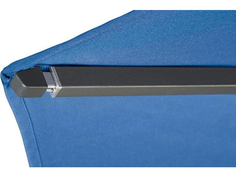 Platinum Riva parasol 350 cm. rond - Antraciet