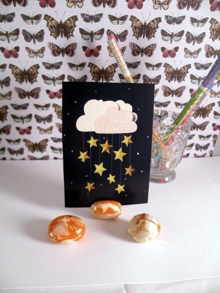 """Cute Clay 3 Super Stones"""" - Notizständer"""