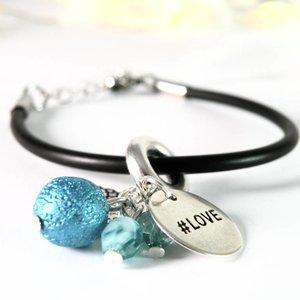 """Cute Clay SAF """"#love"""" - Armband"""