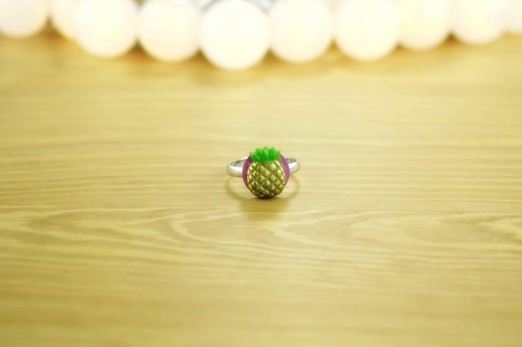 "Cute Clay ""Ananas"" - Ring"