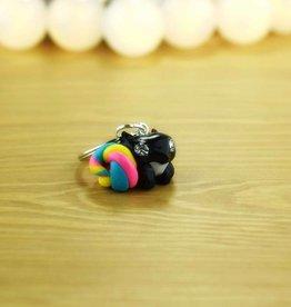 """""""Rainbow Squirrel"""" - Schlüsselanhänger"""